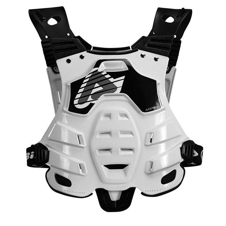 Προστατευτικός Θώρακας Μοτοσυκλέτας ACERBIS Profile 2.0 Άσπρο Μαύρο