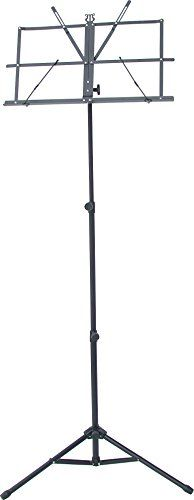 Audio2000'S AST4444BK Premium Portable Sheet Music Stand:   The New AST4444BK is a Premium Portable Sheet Music Stand with Tripod tubes with dual metal links for extra stability.