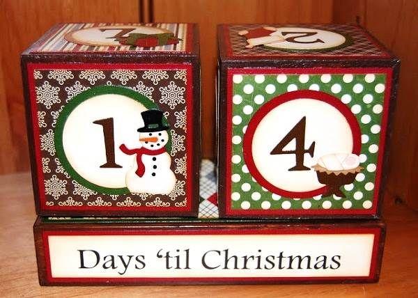14 Days til Christmas 2013 Coundown Blocks Images