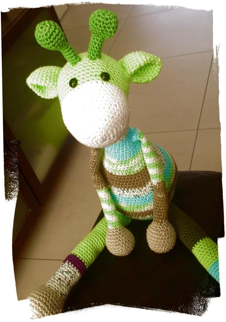 Amigurumi Giraffe : how gorjus is this #giraffe #cute #crochet #amigurumi find ...