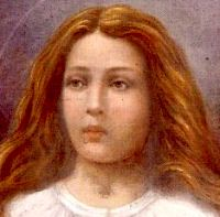 St. Maria Goretti pray for us and against impoverishment and for children, young people and rape victims.  Feast day July 6.