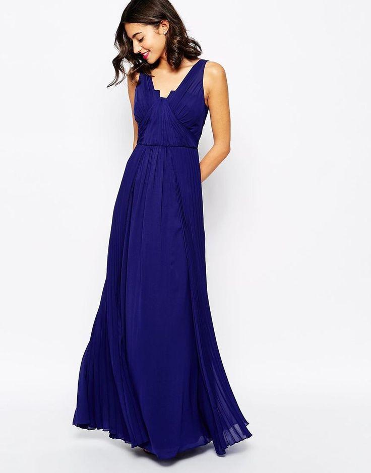 25 best vestidos invitadas images on Pinterest | Gowns, Long dresses ...