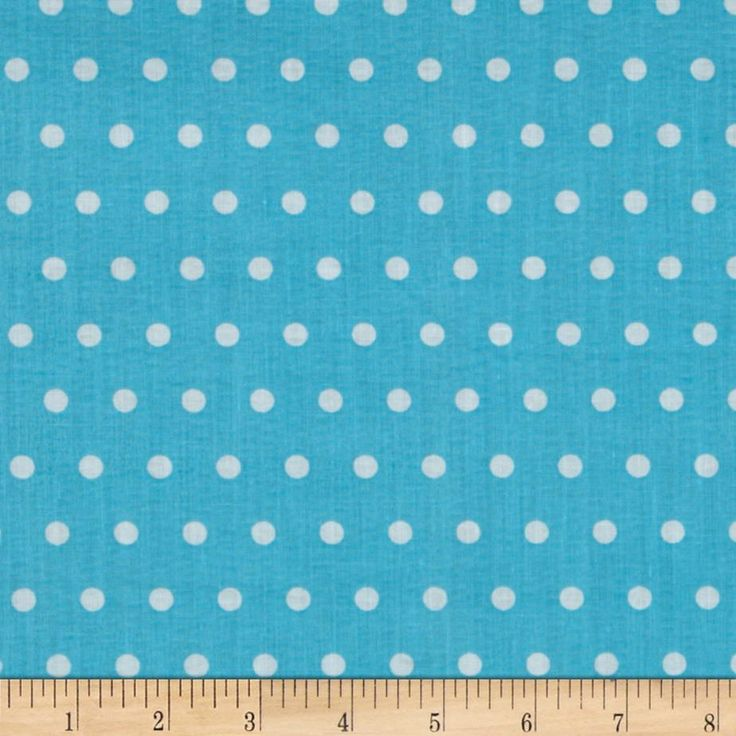 TUTTI-FRUITTI POLKA DOT TURQUOISE from @fabricdotcom  Plisse has a puckered finish given to fabric. This poly/cotton plisse fabric will be comfortable to wear and perfect for blouses, dresses, skirts and kids clothing. In warmer climates, it is also appropriate for lightweight pants or shorts.