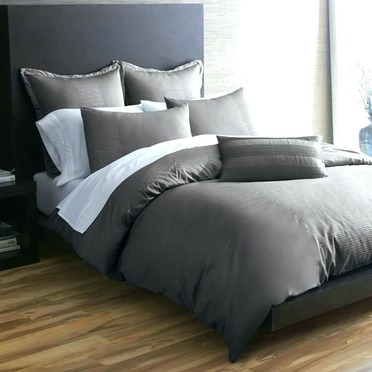 Awesome Solid Gray Duvet Covers Outstanding Solid Gray Comforter