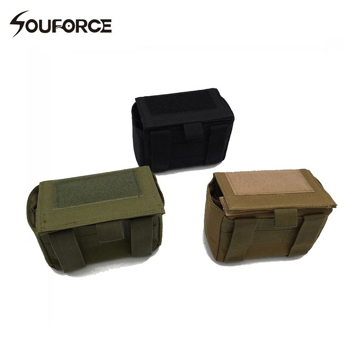 Tactical Molle Tactical Magazine Reload Shotshell Holder 15 rounds Shell Rifle Waist Pouch Mag Green Army Bag