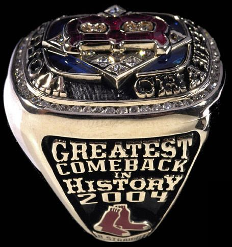 2004 Red Sox World Series Ring