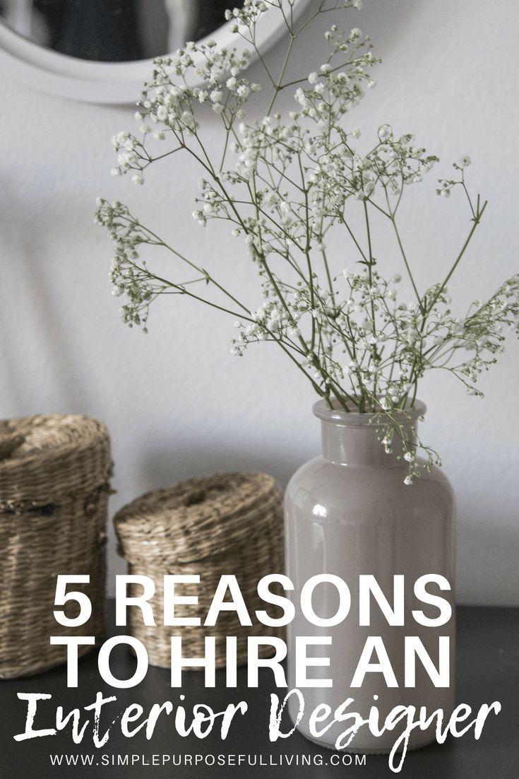 5 Reasons To Hire An Interior Designer Interior Design Jobs