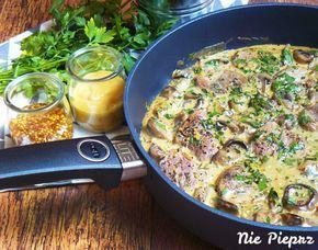 Szybki i łatwy przepis na polędwiczki wieprzowe duszone w sosie musztardowym. Delikatne mięso w kremowym sosie to mój pomysł na obiad idealny.