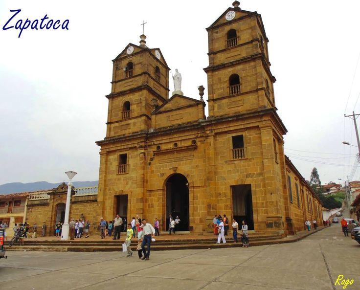 Colombia - Iglesia de San Joaquín, Zapatoca, Santander.