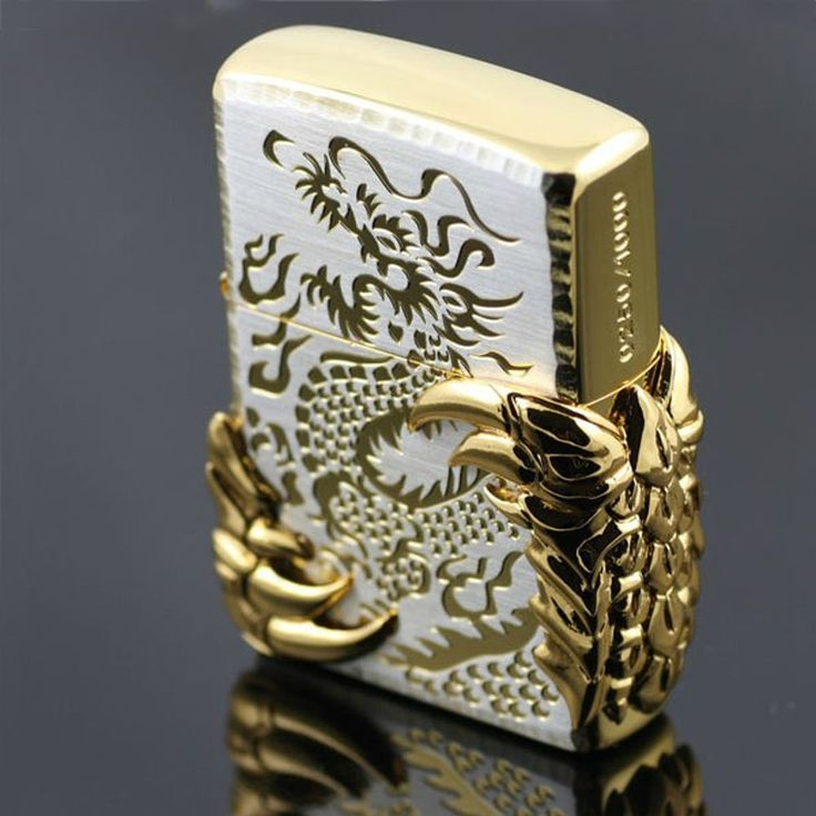 Dragon Wings Zippo Lighter #dragon #lighter #zippo