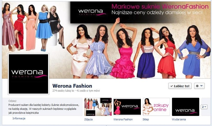 Cover photo sklepu internetowego Werona Fashion