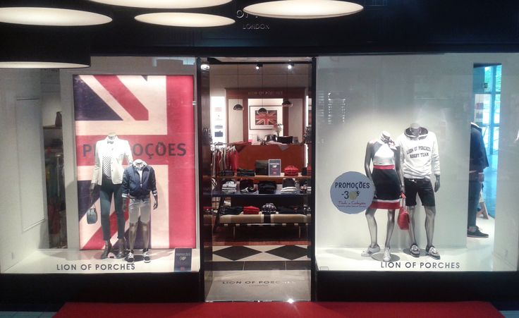 NEW STORE l Torres Novas, TorreShopping Get to know LION OF PORCHES World at www.lionofporches.com