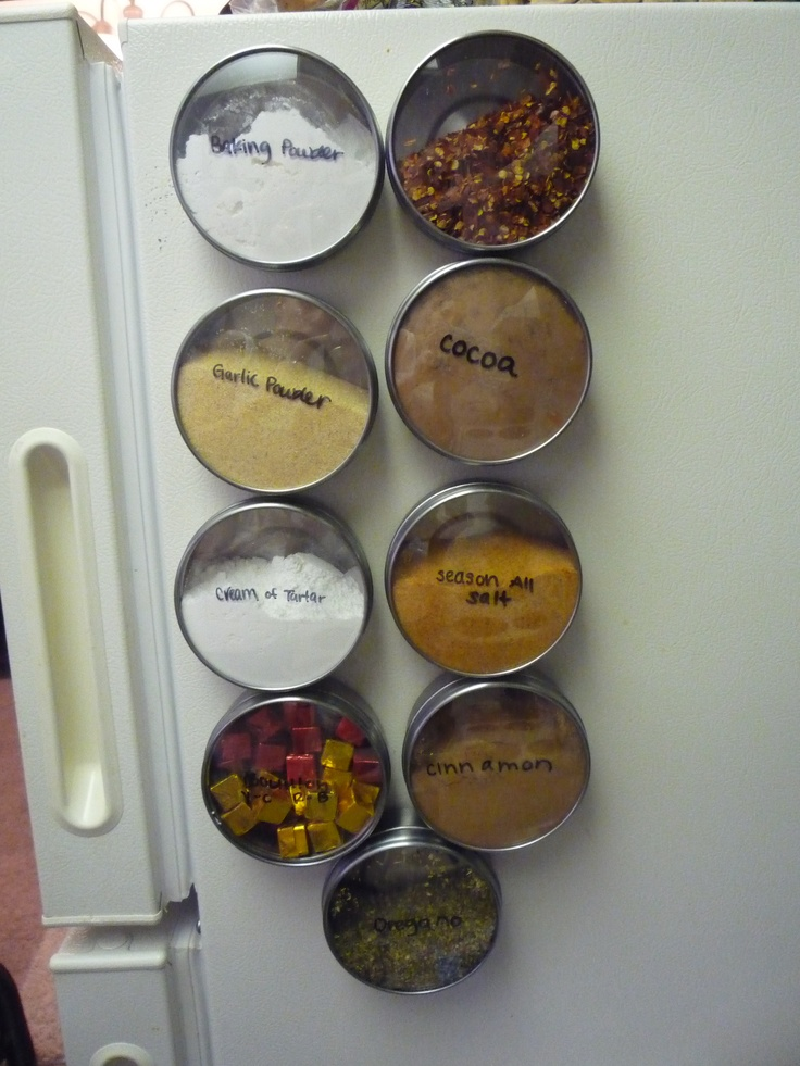 Ikea Grundtal Magnetic Spice Containers ~ Spice containers, The future and We have on Pinterest