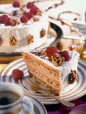 Cappuccino-Walnuss Torte