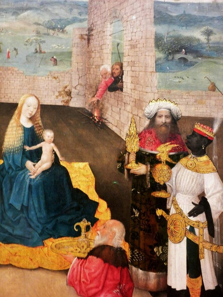 1470s Hieronymus Bosch. Hieronymus, or Jerome, Bosch, (c 1450-1516) Adoration of the Magi