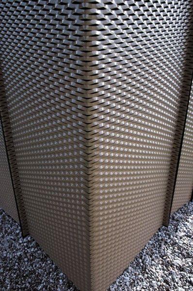 métal déployé plié et metal deploye thermo laqué