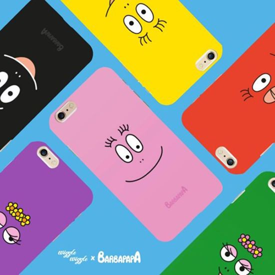 Korea Wiggle Wiggle Barbapapa Cell Phone Silcone Case Cover For iPhone 6/6S/7/7+ #WiggleWiggleKorea