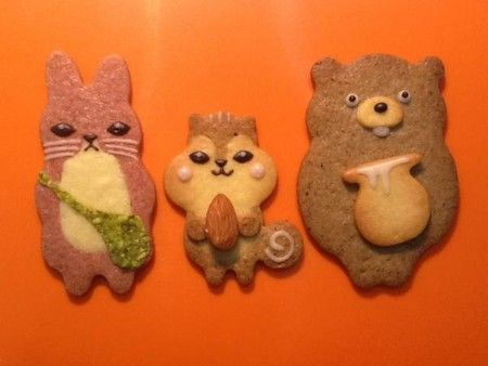 henteco(へんてこ)森の洋菓子店 どうぶつクッキー