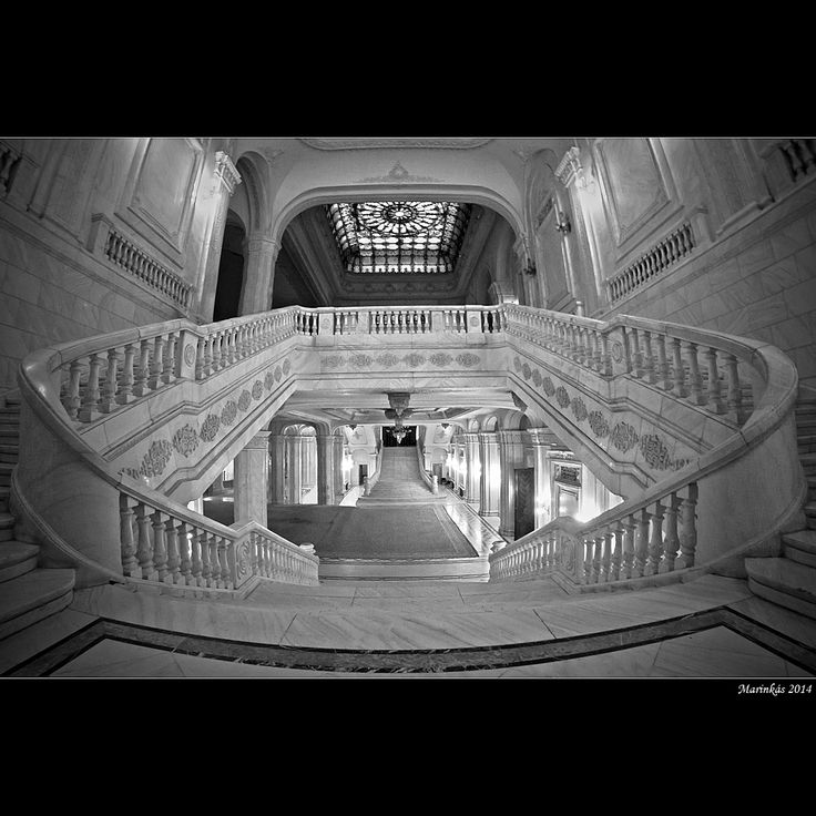 The Romanian Parliament III - Bucharest, Bucuresti