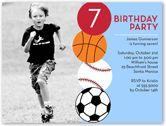 Flat 1 Photo Birthday Party Invitations for Boys | Shutterfly