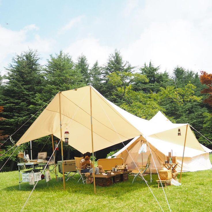 * おはようございます☀ 昨日の夕方、帰ってきて、 今日は、通常の朝 朝のキャンプ風景 * 皆様、よい1日を * #湖畔キャンプ #志高湖 #camp#campus #camping #summercamp #campinglife #犬連れキャンプ #アスガルド#ウッドポール#カーリ20#ou...