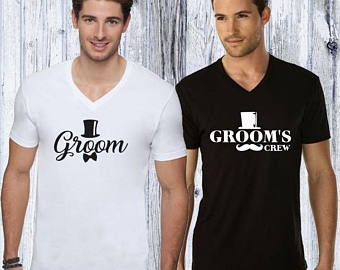 Bachelor Party Groom and Groomsmen T-Shirts
