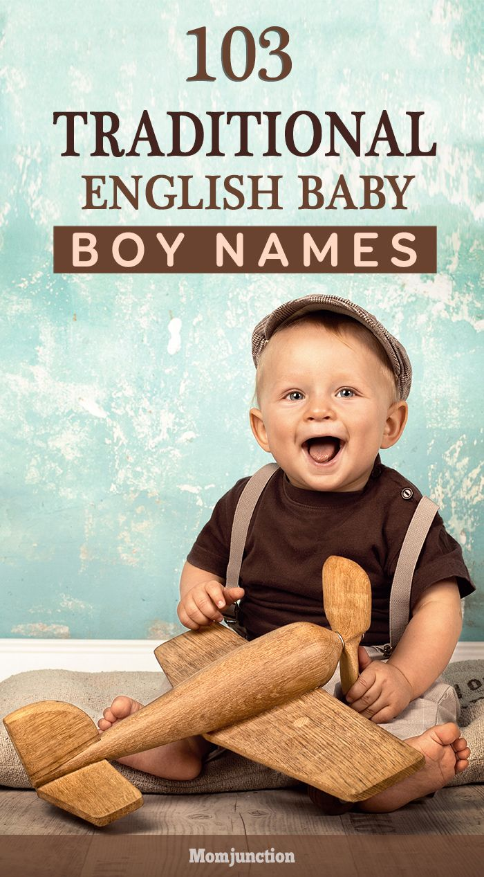 103 Traditional English Baby Boy Names