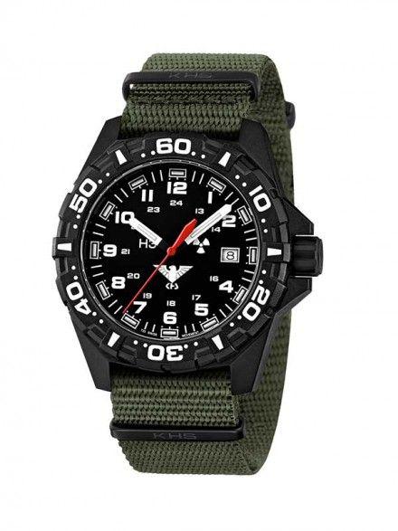 KHS Reaper mit oliven Nato Armband KHS.RE.NO