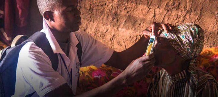 Una 'app' para diagnosticar enfermedades oculares desde el móvil - Noticias de Tecnología