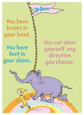 You can steer yourself any direction you choose.