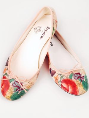 Spring Fling: John Derian & Repetto Collaborate On A Ballet Flat