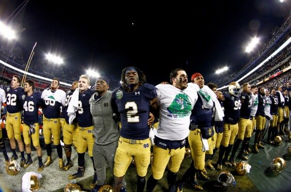 Future questions arise for Notre Dame after its Music City Bowl win over LSU Give the Irish credit. After losing 4-straight games to close out the regular season, they ran the ball consistently against an SEC …