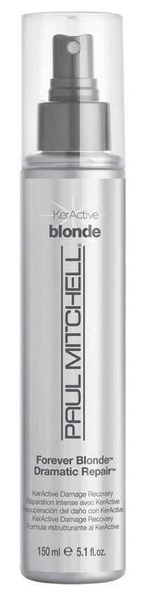 Riparatore per Capelli Biondi Forever Blonde Dramatic Repair, condizionatore per i capelli decolorati e ultra schiariti