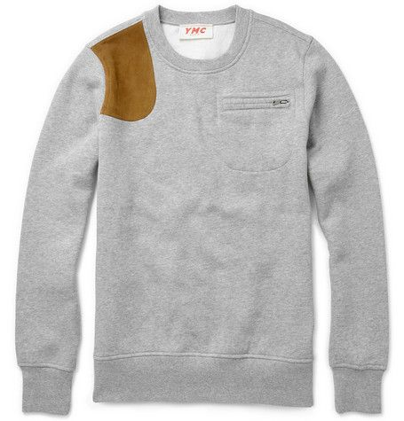 YMCShoulder Patch Sweater MR PORTER