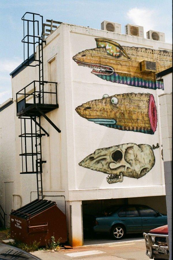Уличное искусство голландцев «BMD Collective»