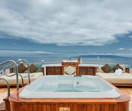 Galapagos Islands, Galapagos Sea Star Cruise jacuzzi - 5 South America Trips Every Luxury Traveller Should Take