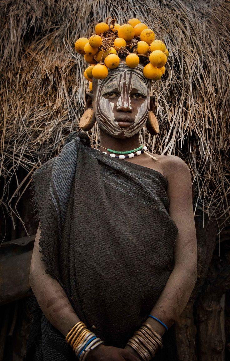 Mursi Girl | Omo Valley, Ethiopia
