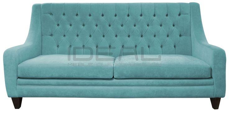 pastelowa turkusowa sofa chesterfield z wysokim oparciem, pastel chesterfield, pluszowa sofa chesterfield, velvet, fotel,  chesterfield, skórzana, skin, styl angielski, pikowana sofa, pikowany fotel, grey, sofa chesterfield, sofas,  armchair ,   pastelowa, turkusowa, różowa, łososiowa, kremowa, pastelowy, turkusowy, seledynowy, łososiowy, kremowy, bonelle, PasteLove ,   sofa_chesterfield_mild_IMG_1372d.jpg (1200×593)