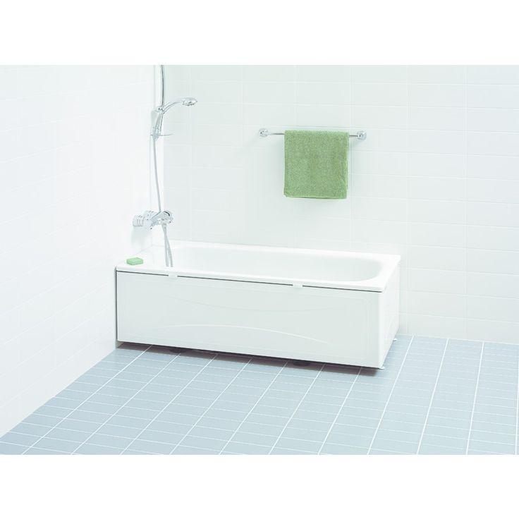 IDO Trevi -kylpyamme 1600, teräsemalia