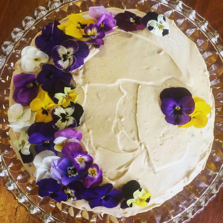 Venetian Zabaglione Cake - my birthday August 2016