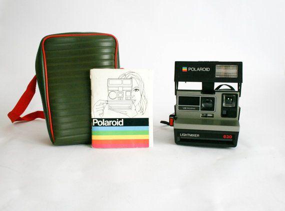 Polaroid 630 Lightmixer LM programma - testato e lavoro con scatola in pelle by DoubleRandC #italiasmartteam #etsy