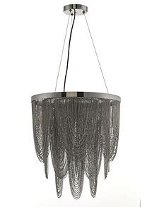 View product Biba Cristina Metal Chain Pendent £192 HOF  sc 1 st  Pinterest & 82 best To light images on Pinterest   Lights Chandeliers and ... azcodes.com