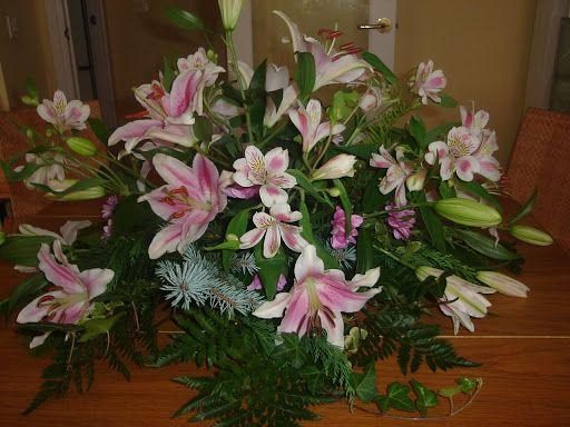 Centros de mesa con flores naturales centros de mesa - Centros de flores naturales ...