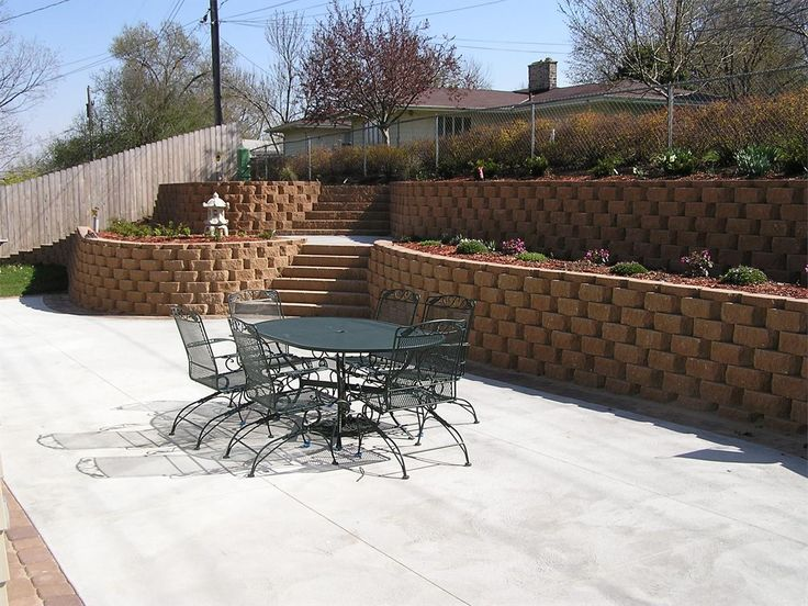 Backyard Retaining Wall Designs Stunning Decorating Design