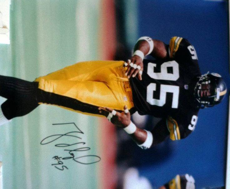 49a3019fd ... Greg Lloyd Pittsburgh Steelers Autographed 16x20 Photo Steelers 20  Rocky Bleier Black Throwback Jersey Greg Lloyd.