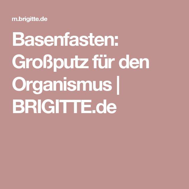 Basenfasten: Großputz für den Organismus | BRIGITTE.de
