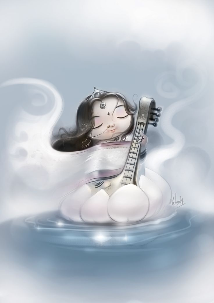Maa Saraswati on Behance