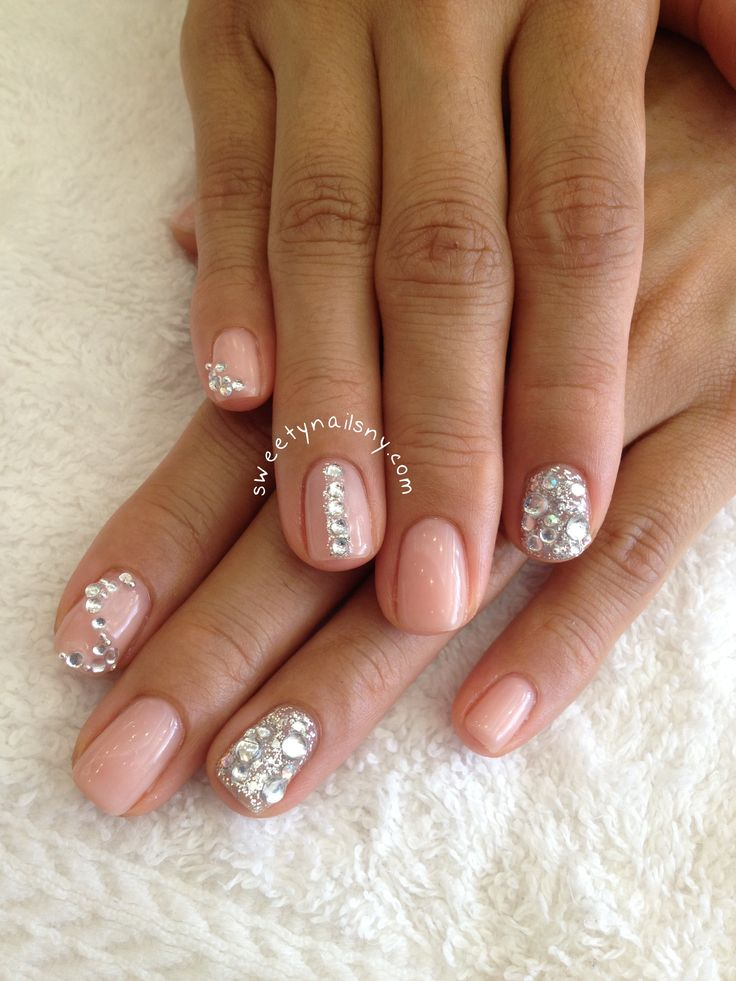 Rhinestone Nails Designs - Nails which are well looked after make a  positive impression on your character. One of the most - 121 Best Nail Art With Rhinestones Etc. Images On Pinterest