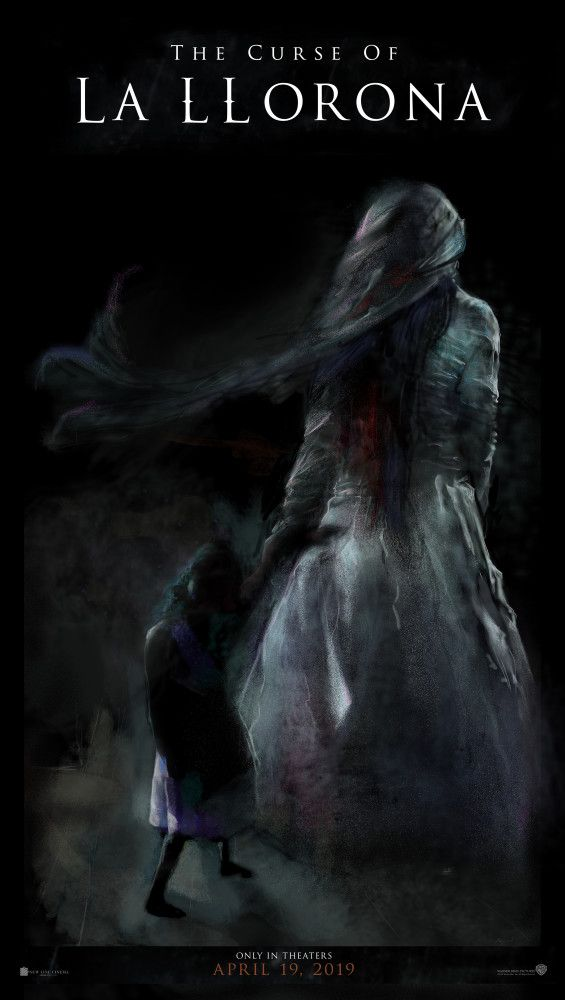 The Curse Of La Llorona La Llorona Llorona Horror Movie Art