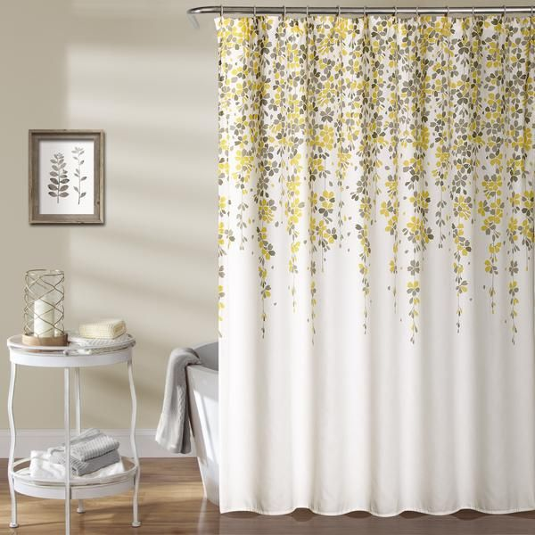 Weeping Flower Shower Curtain